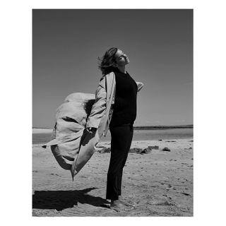availablelight wind model fashionphotographer newpost beachshooting beach collection_bw fashionshooting fashion