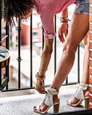 curlyhair shorts fashionpost manhattan newyork_instagram sweden gothenburg karlforsberg fotograf photographerlife photographer outfitoftheday balcony shoes modeling model nycmodel nyc lowereastside theludlowhotel newyorkcity photooftheday photoshoot legsfordays legs