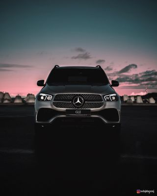 automotivephotography carphotography estonia FujifilmGFX50s gle luxurysuv mercedes mercedesbenz mercedesgle photopoint_ee sunrise tallinn