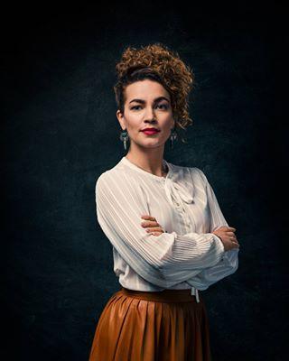 studiophotography makeportraits dress portrait hairstyle